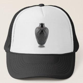 Black Art Deco Glass Lizard Vase Trucker Hat