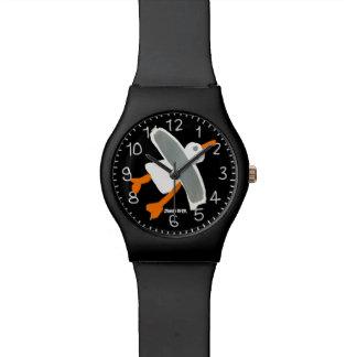 Black Art Watch: John Dyer Cornish Seagull Watch