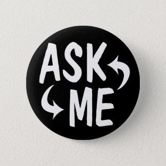 Black Ask Me Button