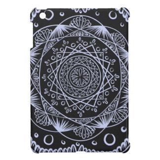 Black, Awakening zen pattern, healing, chakra Case For The iPad Mini