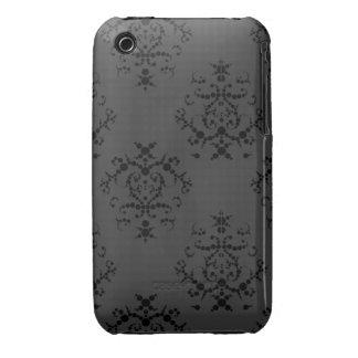 Black Baroque iPhone 3/3GS case iPhone 3 Case-Mate Cases