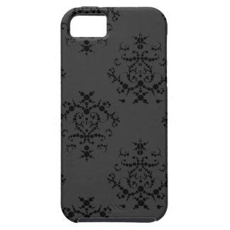 Black Baroque iPhone 5 case