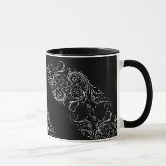 Black Baroque Mug