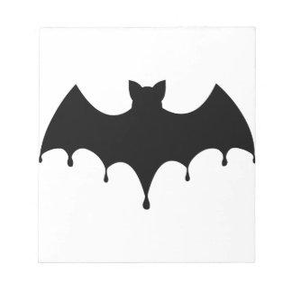 Black Bat Notepad