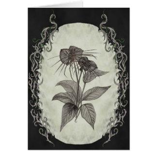 Black Bat Plant Card