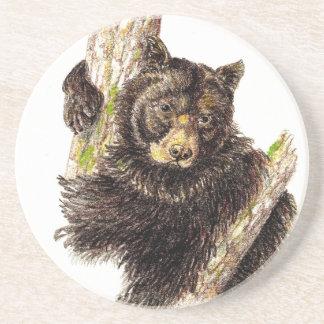 Black Bear Animal Coaster