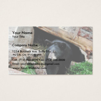 Black Bear Business Card