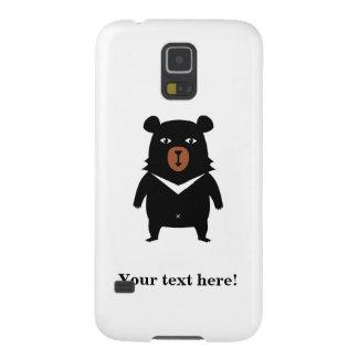 Black bear cartoon galaxy s5 cover