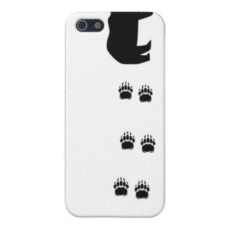 Black Bear Claws iPhone 5 Covers