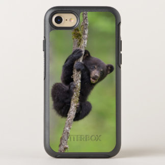 Black bear cub playing, Tennessee OtterBox Symmetry iPhone 7 Case
