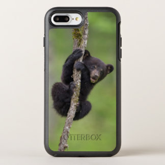 Black bear cub playing, Tennessee OtterBox Symmetry iPhone 7 Plus Case