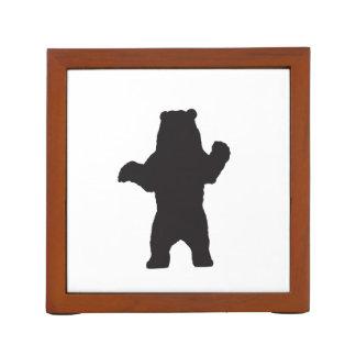 Black Bear Desk Organizer