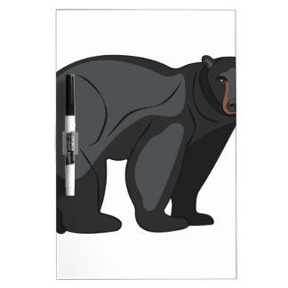 Black Bear Dry Erase Whiteboard