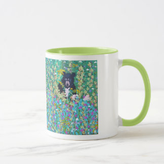 Black Bear in Berry Patch Mug