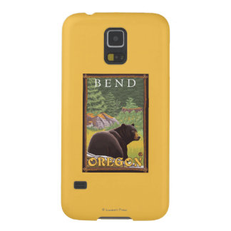 Black Bear in Forest - Bend, Oregon Cases For Galaxy S5