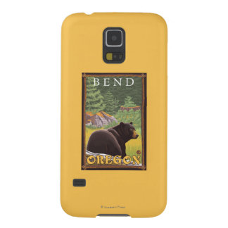 Black Bear in Forest - Bend, Oregon Galaxy S5 Cover