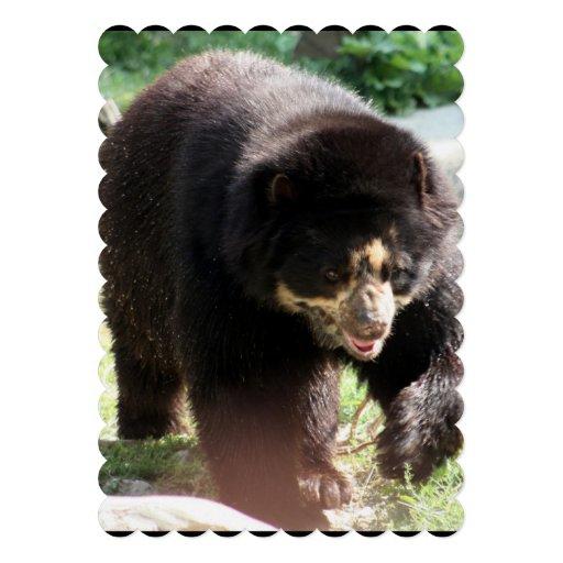 Black Bear Custom Invites