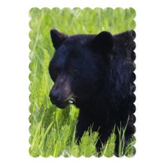 Black Bear Personalized Invitations
