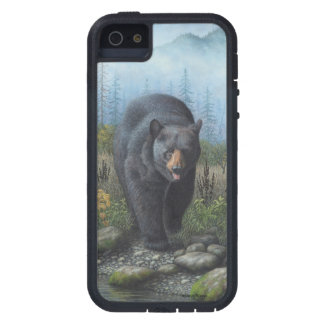 Black Bear iPhone 5 Cover