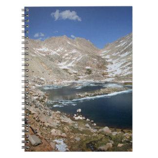 Black Bear Lake - Sierra Spiral Notebook