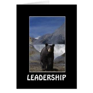 BLACK BEAR LEADERSHIP Motivational Cards
