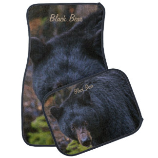 Black Bear Majesty Car Mat