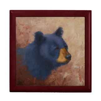 Black Bear Portrait Storage Box