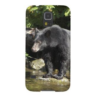 "Black Bear ""Salmon Spotting"" Wildlife Phone Case"