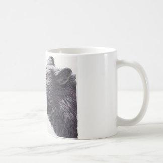 Black Bear Side Portrait Coffee Mug