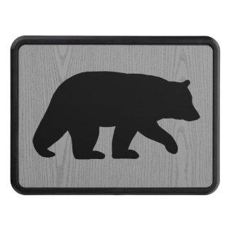 Black Bear Silhouette Trailer Hitch Cover