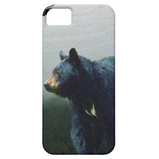 Black Bear Wildlife Theme iPhone 5 Cases