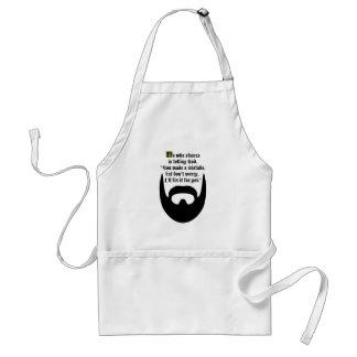 black beard standard apron