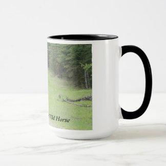 """Black Beauty""  Alberta Wild Horse Mug"