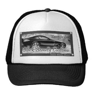 Black Beauty Customs Hat