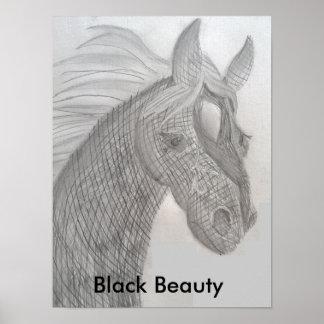 Black Beauty Poster de princesse Toytastic's