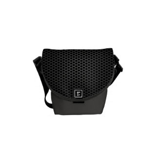 Black Bee Hive Mini Woman's Messenger Bag