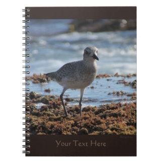 Black-bellied Plover Spiral Notebook 2