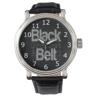 Black Belt Extraordinaire Watch