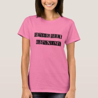 Black Belt Grandma-- Metal Block, plain back T-Shirt