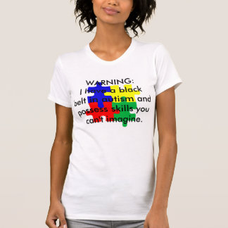 Black Belt in Autism T-Shirt