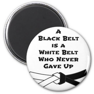Black Belt Magnet