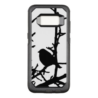 Black Bird Animal OtterBox Galaxy S8 Case