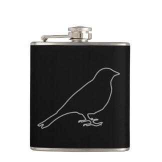Black Bird Flask
