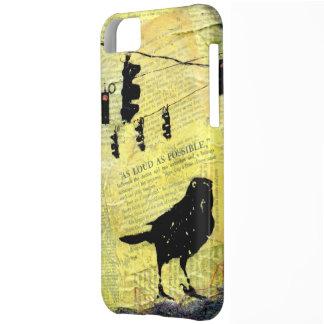 Black Bird LOUD Stop Light Case For iPhone 5C