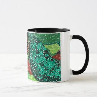 Black Birds and Emeralds Mug