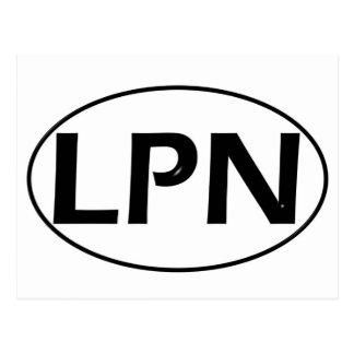 Black Black LPN Post Cards