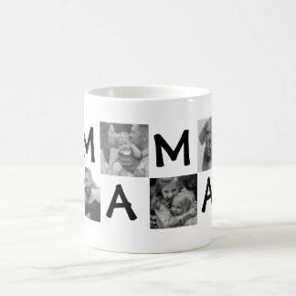 Black blank photograph sulks for mummy or pa coffee mug