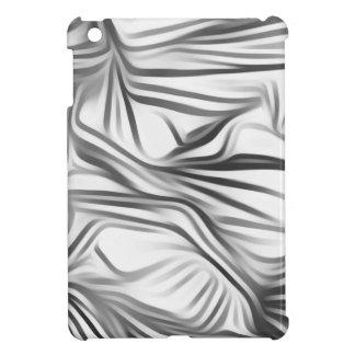 Black blank prints Black White prints plant iPad Mini Cover