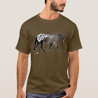 Black Blanketed Appaloosa Horse T-Shirt