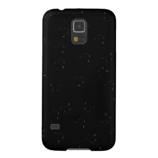 Black Blending Mini Hearts Cases For Galaxy S5